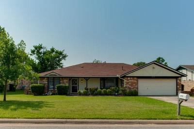 North Richland Hills Single Family Home Active Option Contract: 8516 Crestview Court