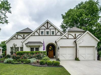 Fort Worth Single Family Home For Sale: 725 N Bailey Avenue