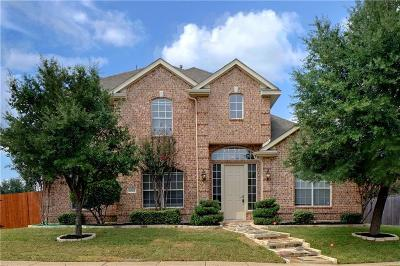 The Colony Single Family Home Active Option Contract: 6601 Oxford Lane