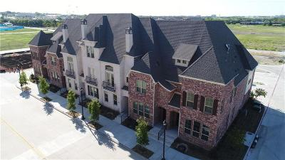 Frisco Townhouse For Sale: 8447 Jacobs Street