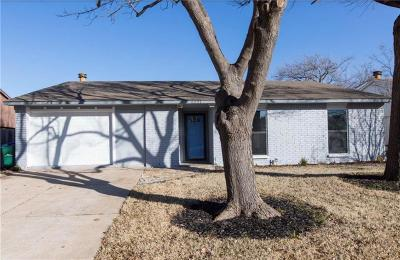 The Colony Single Family Home For Sale: 5221 Worley Drive