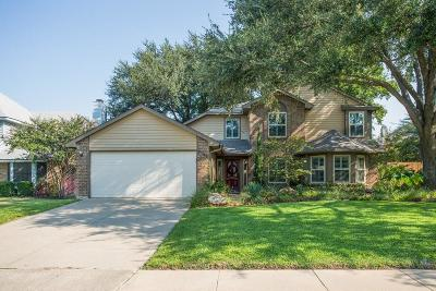 Grapevine Single Family Home Active Option Contract: 2728 Harmon Drive