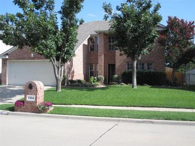 North Richland Hills Single Family Home Active Option Contract: 7304 Falcon Court