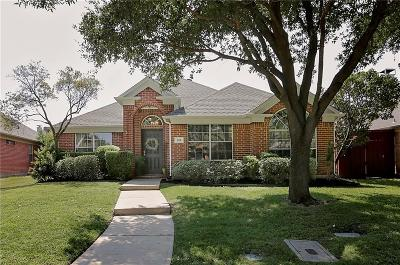 Dallas County, Denton County Single Family Home Active Option Contract: 208 Touchdown Drive