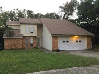 Garland Single Family Home For Sale: 709 Tacoma Drive