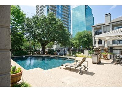 Dallas Townhouse For Sale: 2201 Wolf Street #4104