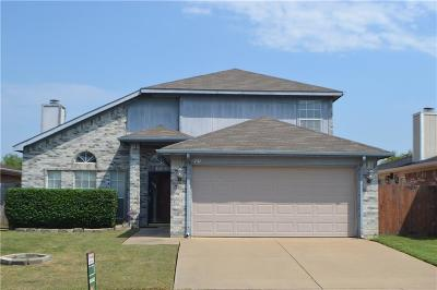 Arlington Single Family Home For Sale: 731 Valley Spring Drive