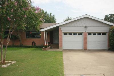 Hurst Single Family Home For Sale: 109 W Cheryl Avenue