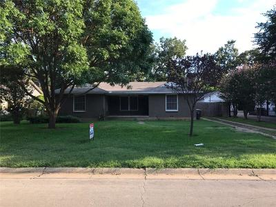 Fort Worth Single Family Home For Sale: 3617 Norfolk Road