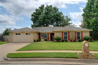 Bedford Single Family Home Active Contingent: 2616 Talisman Court