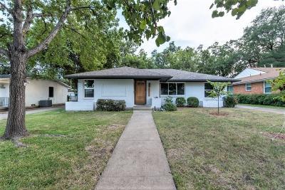 Dallas Single Family Home For Sale: 6424 E Lovers Lane