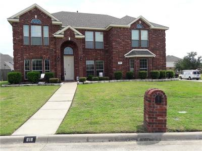Mansfield Single Family Home For Sale: 616 Hammond Drive