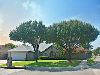 North Richland Hills Single Family Home Active Option Contract: 7400 Dana Lane