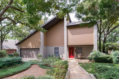 Grapevine Single Family Home Active Option Contract: 1037 W Winding Creek Drive