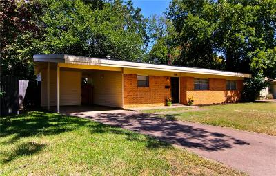 Irving Single Family Home Active Option Contract: 1921 Salem Street