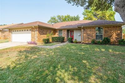 Euless Single Family Home For Sale: 1108 Meadowview Drive