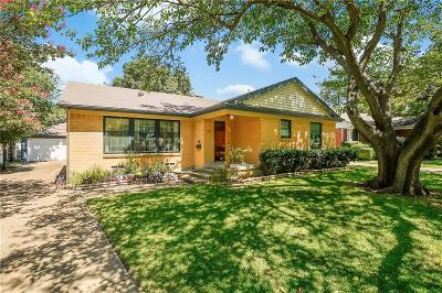 Dallas Single Family Home Active Option Contract: 1817 Swan Drive