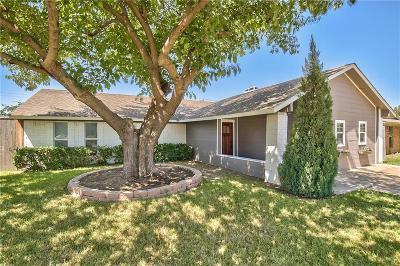 Dallas County, Denton County Single Family Home Active Option Contract: 2611 Elk Grove Road