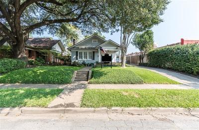 Dallas Single Family Home For Sale: 5637 Richmond Avenue