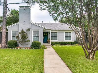 Single Family Home Active Option Contract: 6317 Anita Street