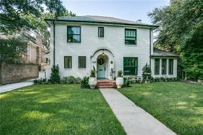 Highland Park Single Family Home For Sale: 4336 Livingston Avenue