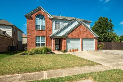 Euless Single Family Home Active Option Contract: 903 Roaring Canyon Road