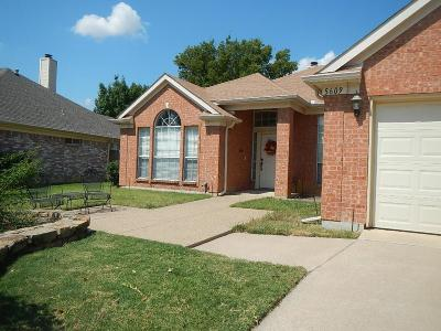 Haltom City Single Family Home For Sale: 5609 Canyon Drive