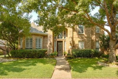 Coppell Single Family Home Active Option Contract: 441 Avalon Lane
