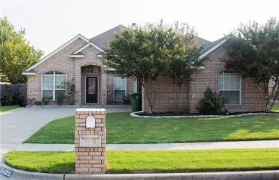 North Richland Hills Single Family Home Active Option Contract: 8405 Emerald Circle