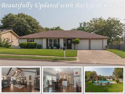 North Richland Hills Single Family Home Active Option Contract: 7608 N Richland Boulevard
