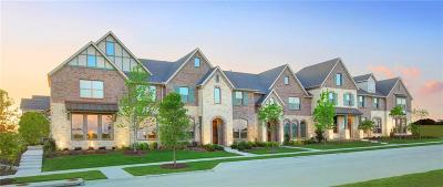 Mckinney Townhouse For Sale: 7217 Chief Spotted Tail Drive