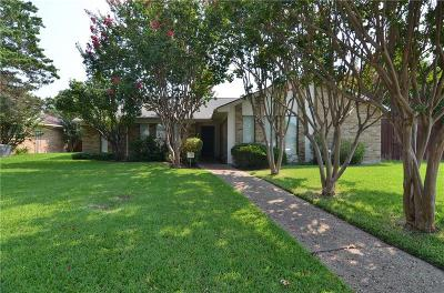 Plano Single Family Home Active Option Contract: 2108 Stain Glass Drive