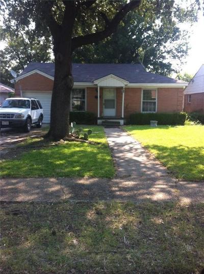 Dallas Single Family Home For Sale: 7806 Robin Road