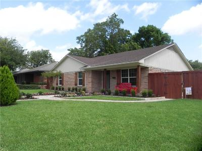 Dallas Single Family Home For Sale: 10627 McCree Road