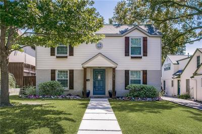 Dallas Single Family Home For Sale: 6210 Prospect Avenue