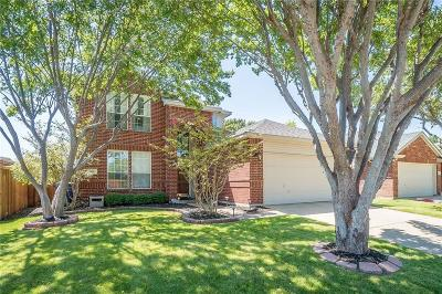 Frisco Single Family Home Active Contingent: 1481 Royal Oaks Drive