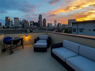 Dallas Townhouse For Sale: 744 Cannen John Lane