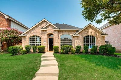 Allen Single Family Home Active Option Contract: 1613 Mapleleaf Fall Drive