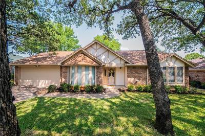 Hurst Single Family Home Active Option Contract: 736 Highland Crest Drive