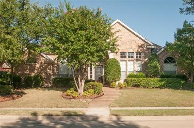 The Colony Single Family Home Active Option Contract: 6440 Wexley Lane