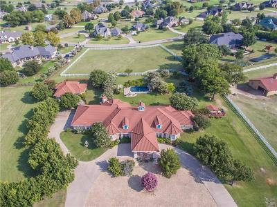 Celina, Carrollton Single Family Home For Sale: 3726 Heritage Trail
