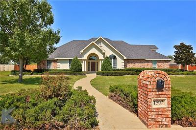 Abilene Single Family Home Active Option Contract: 1502 Saddle Lakes Drive