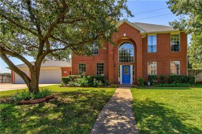 Keller Single Family Home Active Option Contract: 1508 Joshua Court