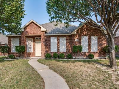 Allen Single Family Home Active Option Contract: 1568 Hansberry Drive
