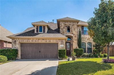 Sachse Single Family Home Active Option Contract: 2622 Wrangler Lane