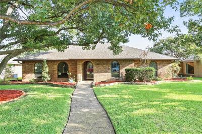 Richardson Single Family Home For Sale: 1105 Hillsdale Drive
