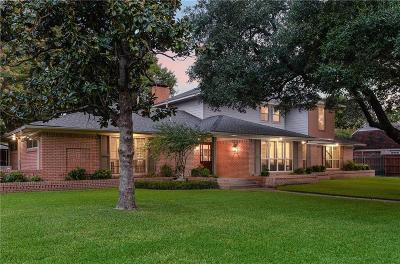 Dallas Single Family Home For Sale: 5732 Williamstown