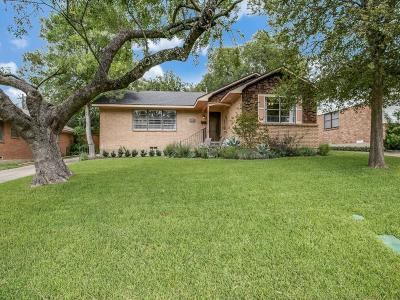 Dallas Single Family Home For Sale: 11718 Rogue Way