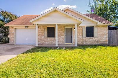Fort Worth Single Family Home For Sale: 2548 Navasota Circle