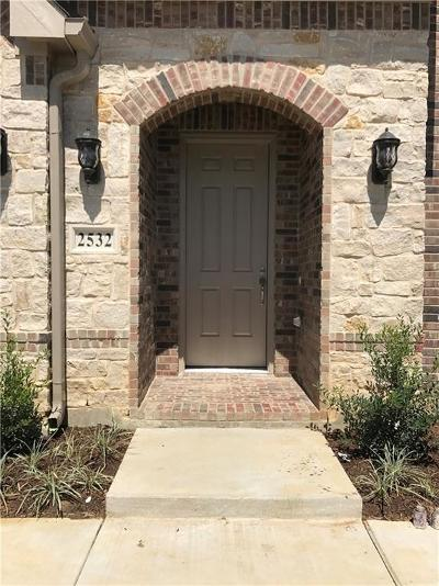 Lewisville Townhouse For Sale: 2532 Plumas Drive
